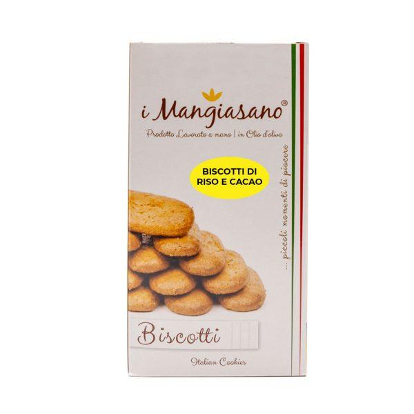 Biscotti di Riso e Cacao - Le Delizie del Grano