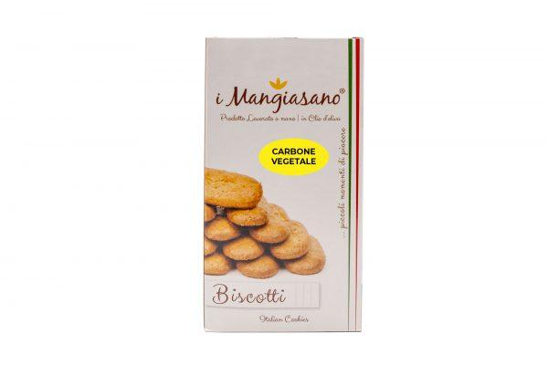 Biscotti al Carbone Vegetale - Le Delizie del Grano