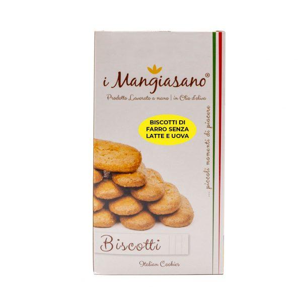 Biscotti di Farro senza Latte e Uova - Le Delizie del Grano