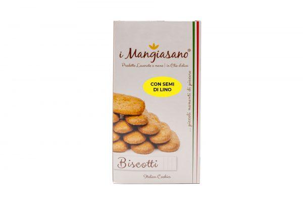 Biscotti con Semi di Lino - Le Delizie del Grano